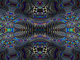 Psychedelic Frame Backgrounds