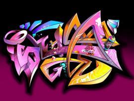 Purple Graffiti Image Download Backgrounds