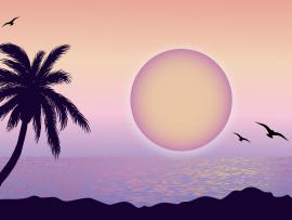 Purple Moon Backgrounds
