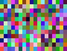 Random Pixel Slides Backgrounds