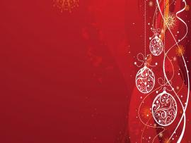 Red Christmas For Clip Art Backgrounds