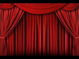 Red Curtain Red Curtain Backdrop Banner Decoration Presentation Backgrounds