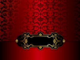 Red Fancy Hd Frame Backgrounds