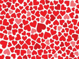 Red Heart Art Backgrounds