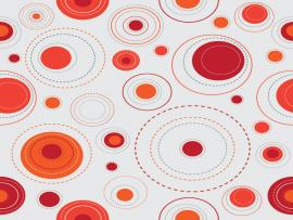 Red Pattern Presentation Backgrounds