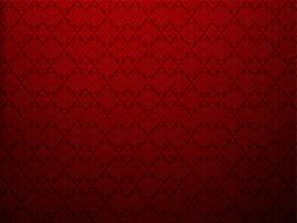 Red Textured Wall With Damask Design Picture Backgrounds