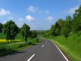 Road Presentation Backgrounds