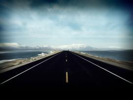 Road Slides Backgrounds