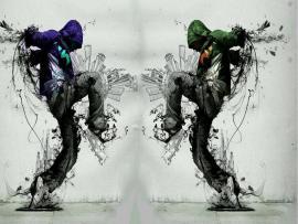 Romantic Hip Hop Art Backgrounds