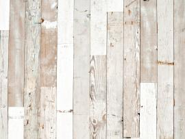 Rustic White Wood Texture Presentation Backgrounds