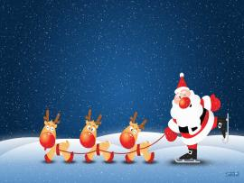 Santa Claus Art Backgrounds