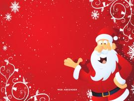 Santa Claus Christmass Design Backgrounds