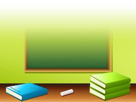School Book Pencil Eraser Free PPT For Your PowerPoint   Download Backgrounds