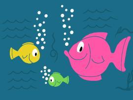 Sea Fish Presentation Backgrounds