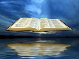 Sea Open Bible Art Backgrounds
