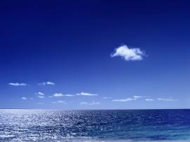 Sea With Clouds Quality Backgrounds
