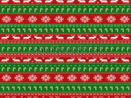 Seamless Pattern With Classic Ugly Sweater Motifs Download Backgrounds