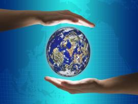 Share   Earth Day 2012 PowerPoint Free image Backgrounds