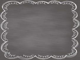 Simple Chalkboard With Border Quality Backgrounds