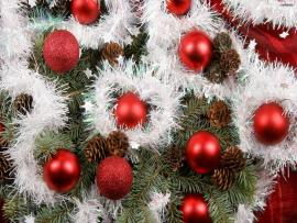 Simple Christmas Ornament Hd Frame Backgrounds