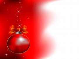 Simple Christmas Red Ball Backgrounds