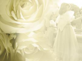 Simple Wedding For Free Wedding Flower Frame Backgrounds