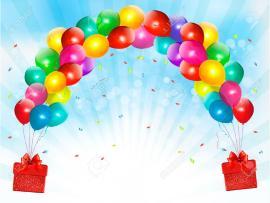 Sky Belt Balloons Backgrounds