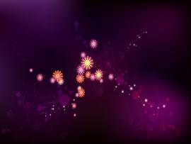 Small Flowers Design Purple image Backgrounds