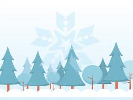 Snow Tree Backgrounds