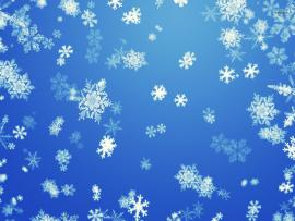Snowflake Blue Abstract Clipart Backgrounds