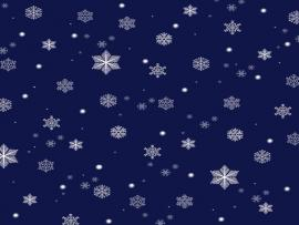 Snowflake Blue Design Quality Backgrounds