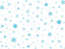 Snowflake Clipart Template Backgrounds