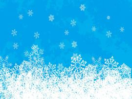 Snowflakes Abstract Art Backgrounds