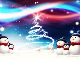 Snowman Christmas Backgrounds