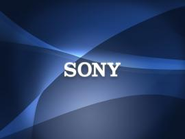Sony Logo Abstract Presentation Backgrounds