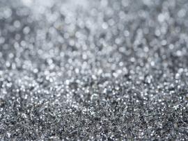 Sparkling Silver Glitter Celebratory Backgrounds