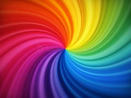 Spiral Rainbow Graphic Backgrounds
