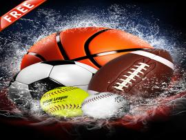 Splash Collection Sports Photo Templates Graphic Backgrounds