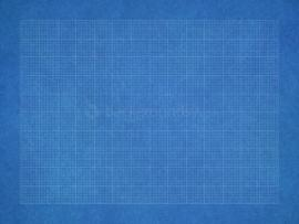 Square Blueprint Presentation Backgrounds