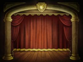 Stage PPT STAGE Free  Free PPT   Clipart Backgrounds