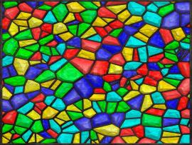 Stained Glass Colorful Quality Backgrounds