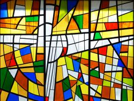 Stained Glass Worship Wallpaper Backgrounds