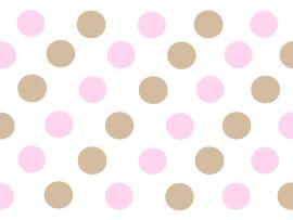 Star Class Pink Polka Dot Wallpaper Backgrounds