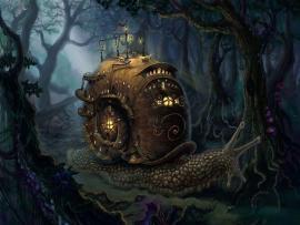 Steampunk Artwork Frame Backgrounds