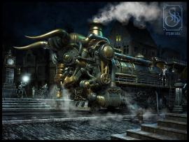 Steampunk Computers Desktop Picture Backgrounds
