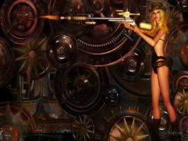 Steampunk Computers Desktop Quality Backgrounds