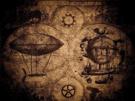 Steampunk Desktop Template Backgrounds