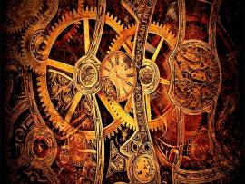 Steampunk HD Frame Backgrounds