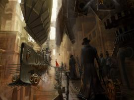 Steampunks Art Backgrounds