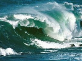 Storm Waves Art Backgrounds